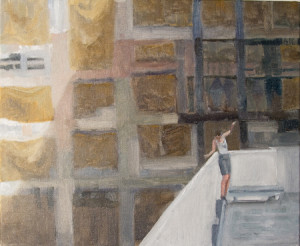 Manifold_Harley_Old_Myers_Building 25 x 35 cm_Oil_on_linen
